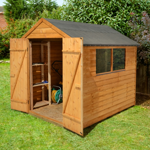 8x6 Garden Shed Double Doors How To Build A Shed Pallets