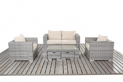 PORT ROYAL LUXE RUSTIC SMALL SOFA SET