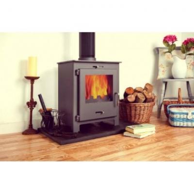 Nero 5 Contemporary Woodburning Stove 5kw