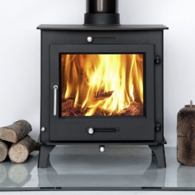 Ottawa 12kw Defra Clean Burn BOILER Multi-Fuel Woodburning Stove