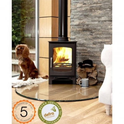 Ecosy Purefire Curve 5kw Defra Approved