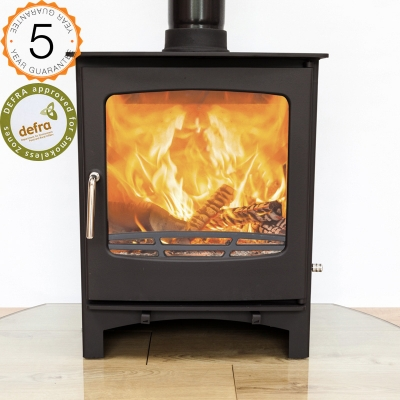 Ecosy Purefire Curve 10kw Multi Fuel Defra Approved Stove