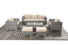 PORT ROYAL LUXE RUSTIC LARGE SOFA SET