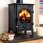 Celtic Multi-Fuel Woodburning Stove 7kw