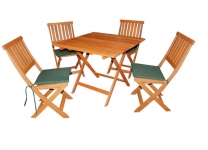 Victoria 5 Piece Hardwood Garden Furniture Set