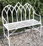 Gothic Bench - Cream