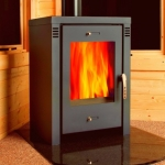 Verona L Contemporary Woodburning Stove 9kw
